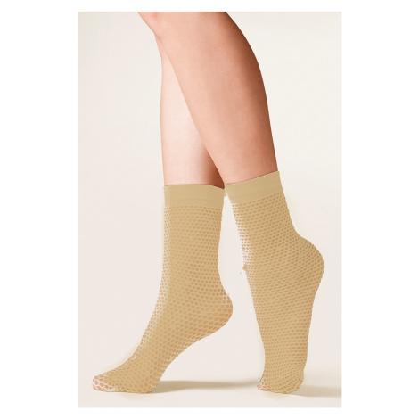 Dámské ponožky 689 Viva beige Gabriella