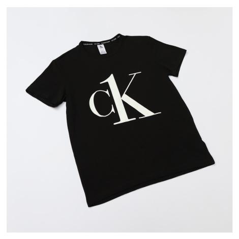 Černé tričko S/S Crew Neck CK One Coord Tops Launch Calvin Klein
