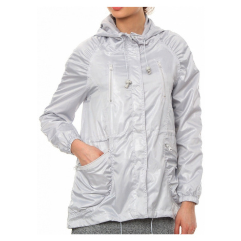 Bunda Moodo L-KU-1702 light grey