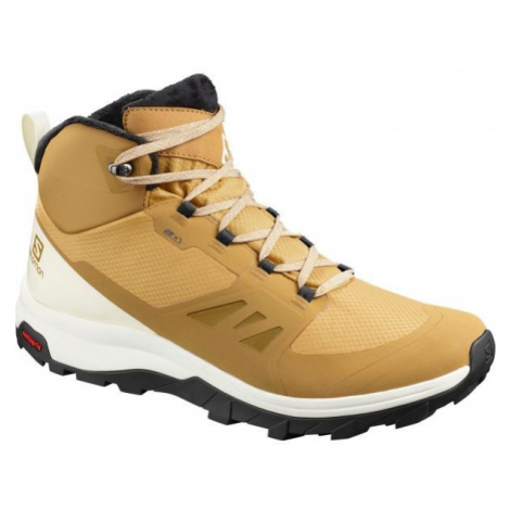 Salomon OUTsnap CSWP béžová - Pánská outdoorová obuv