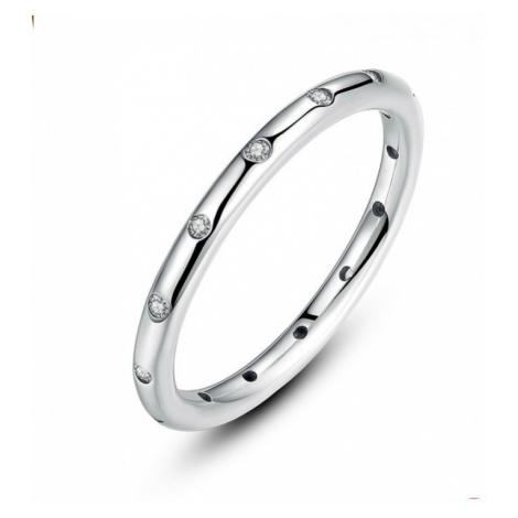 Linda's Jewelry Stříbrný prsten Simple IPR019 Velikost: 56