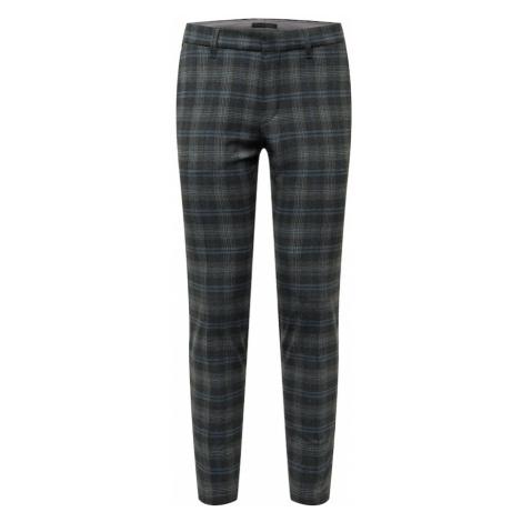 DRYKORN Chino kalhoty 'SIGHT' šedá / antracitová / modrá / žlutá