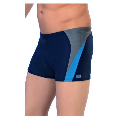Pánské boxerkové plavky Peter2 modré Winner