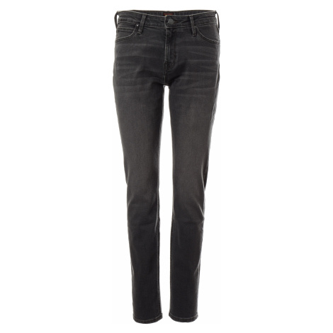 Lee jeans Elly Black Flow dámské tmavě šedé