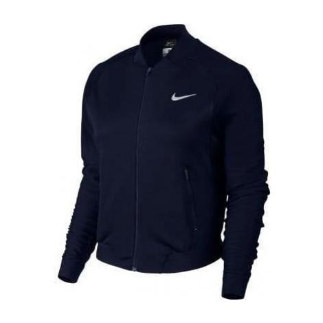 Dámská bunda Nike Court Team Premier Tmavě modrá / Bílá