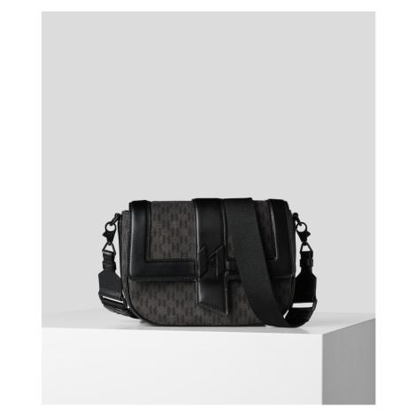 Kabelka Karl Lagerfeld K/Saddle Bag Mono Dnm Md