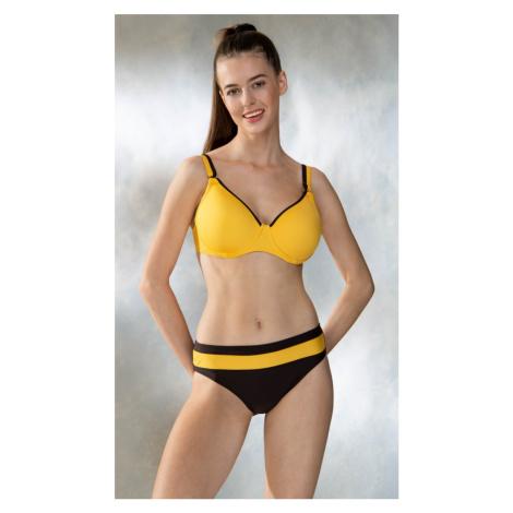 Dámské plavky TIMO 841591   žlutá