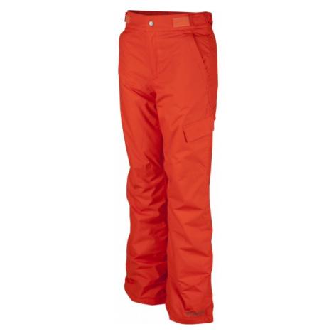Columbia ICE SLOPE II PANT oranžová - Chlapecké lyžařské kalhoty