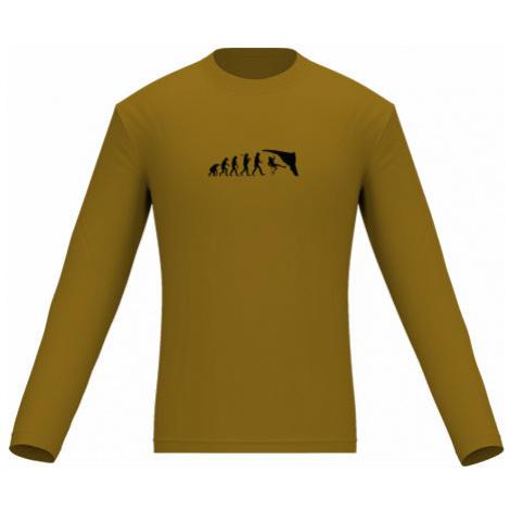 Pánské tričko dlouhý rukáv Evolution Climber
