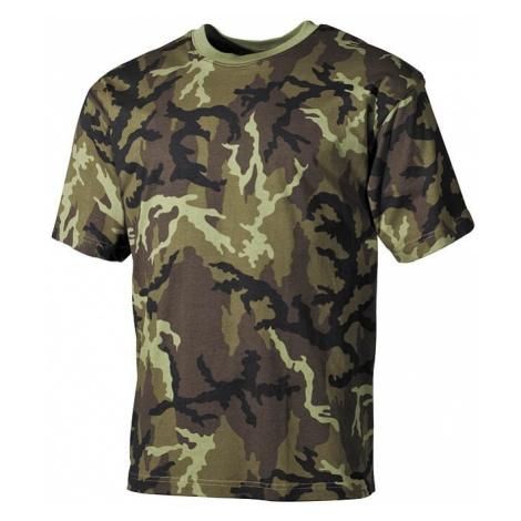 Bavlněné tričko US army MFH® s krátkým rukávem - vzor 95.-CZ Max Fuchs