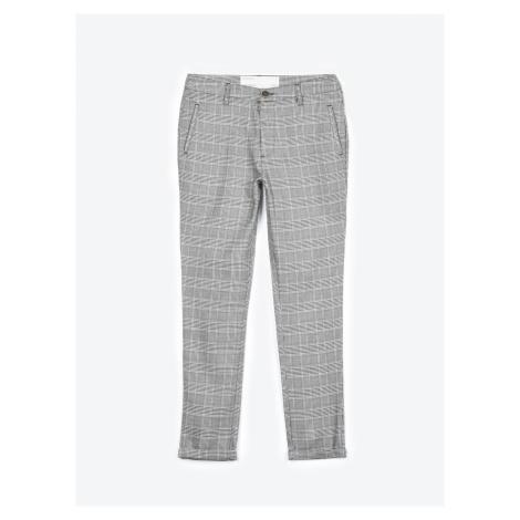 GATE Kárované kalhoty chino