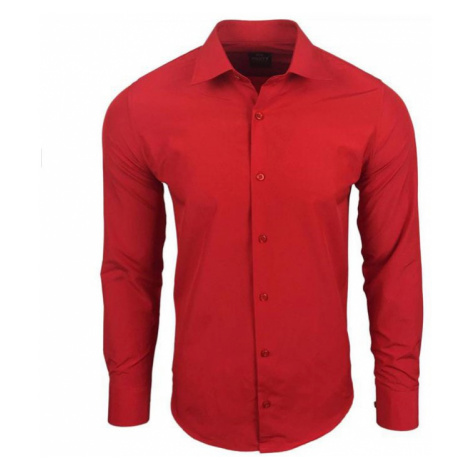 RUSTY NEAL košile pánská R-55 dlouhý rukáv slim fit