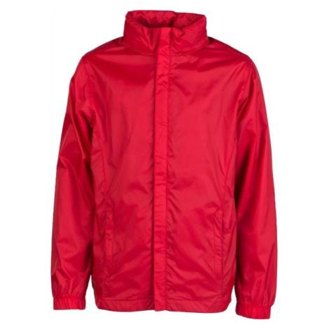Kensis WINDY JR červená - Chlapecká šusťáková bunda