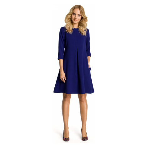 Made Of Emotion Woman's Dress M338 Royal
