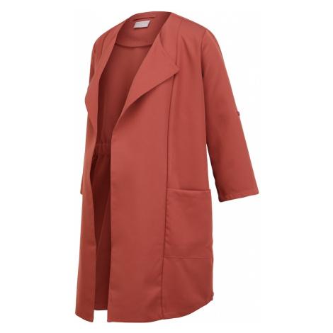 MAMALICIOUS Přechodný kabát 'PCMPAIGE' červená Mama Licious