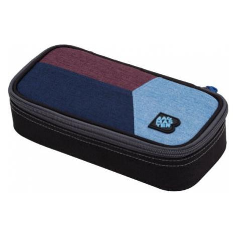 Studentský penál BAGMASTER CASE DIGITAL 20 C BLUE/RED/LIGHT BLUE, stylový, barevný pro holky i k