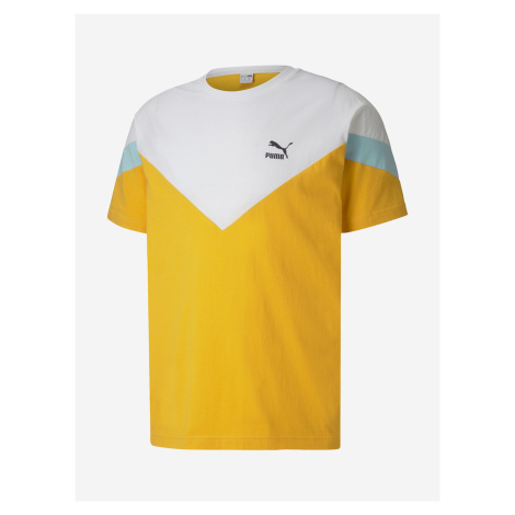 Tričko Puma Iconic Mcs Tee Žlutá