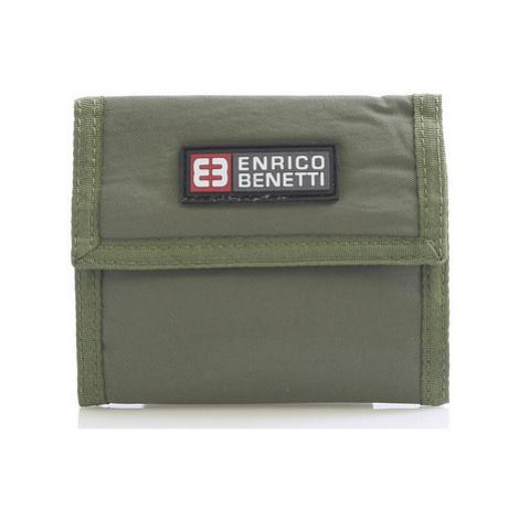 Enrico Benetti Olivová látková peněženka 14607 Zelená