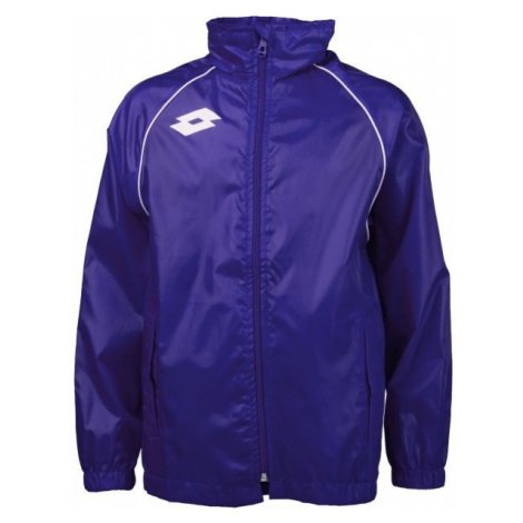 Lotto JACKET DELTA WN JR modrá - Chlapecká sportovní bunda
