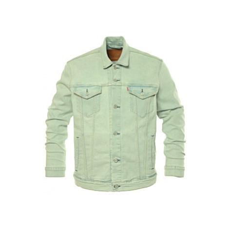 Džínová bunda Levi´s® The Trucker Pale Shade pánská světle modrá