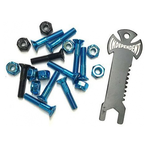 SK8 ŠROUBKY INDEPENDENT Phillips w/tool - modrá