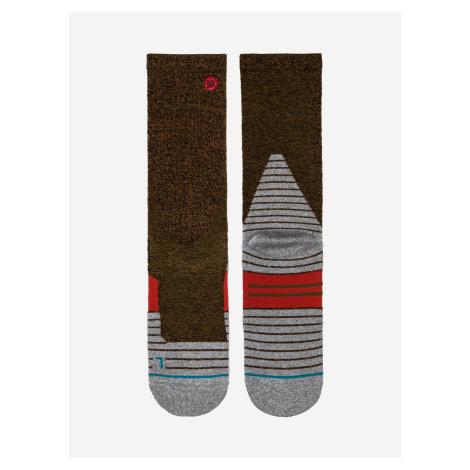 Mcconnell Trek Ponožky Stance Hnědá
