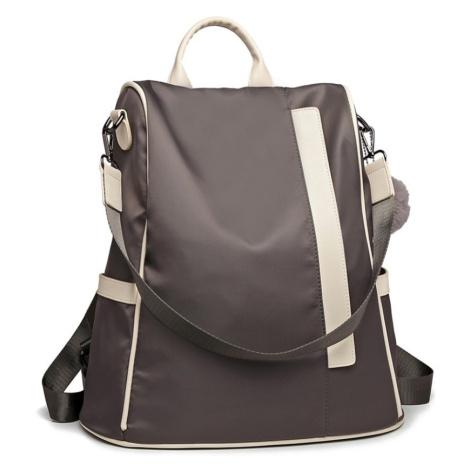 Šedý originální moderní batoh Bradyn Lulu Bags