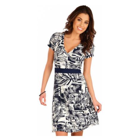 Dámské šaty s krátkým rukávem Litex 5A027 | tisk