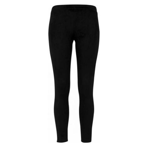 Urban Classics Ladies Imitation Suede Leggings black
