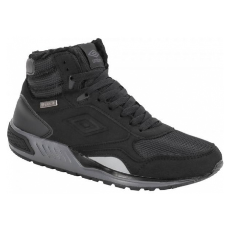 Umbro REDHIL MID WP černá - Pánská zimní obuv