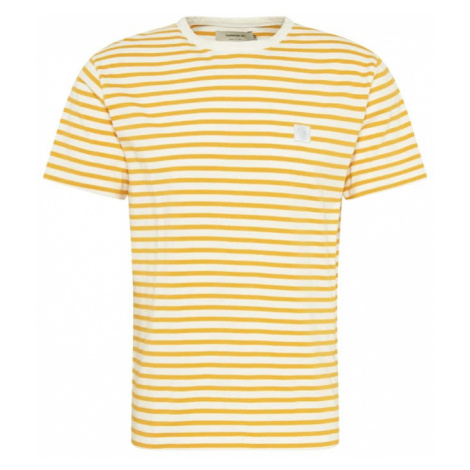 Thinking MU Tričko zlatě žlutá / bílá