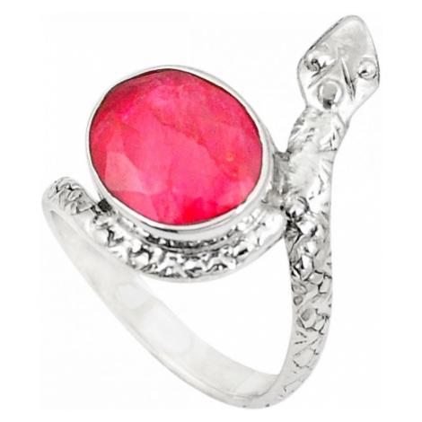 AutorskeSperky.com - Stříbrný prsten had - S2190