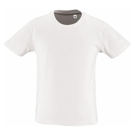 SOĽS Dětské triko - organická bavlna MILO KIDS 02078102 Bílá SOL'S