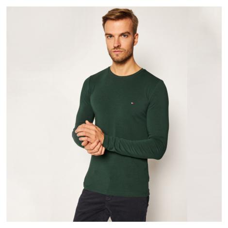 Tommy Hilfiger pánské tmavě zelené tričko