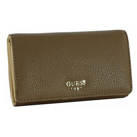 Menší hnědá peněženka Guess