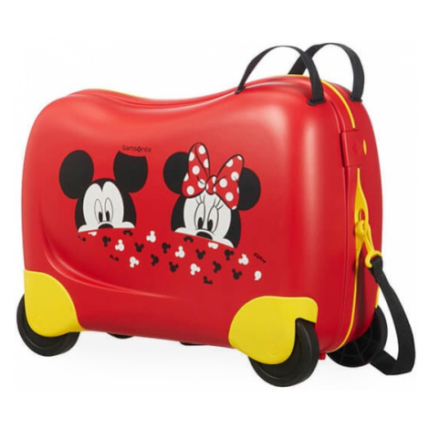 Samsonite - Kabinový cestovní kufr DISNEY DREAM RIDER - Mickey/Minnie Peeking 109641-7256