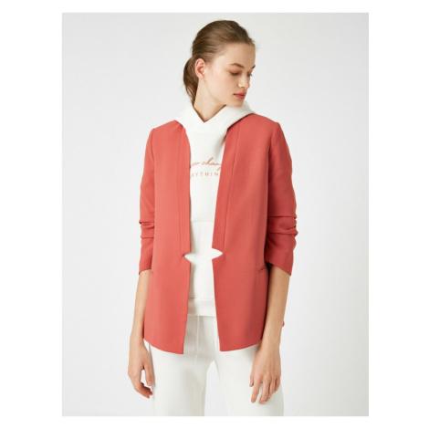 Koton 3/4 Sleeve Blazer Jacket