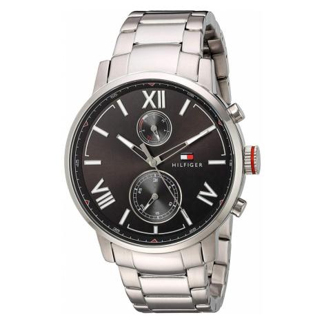 Tommy Hilfiger pánské stříbrné hodinky
