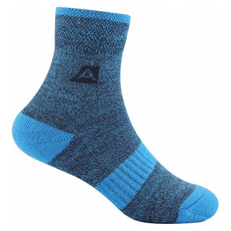 ALPINE PRO WERBO Dětské ponožky - merino KSCT019697 brilliant blue