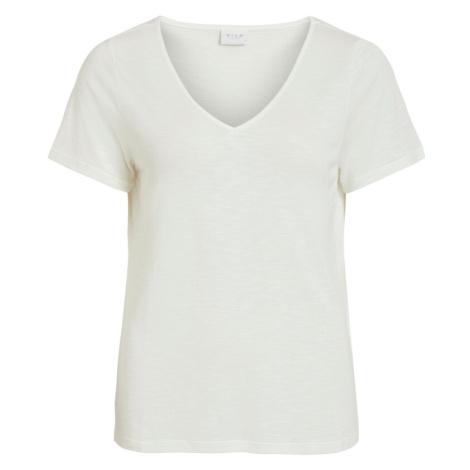VILA Tričko bílá