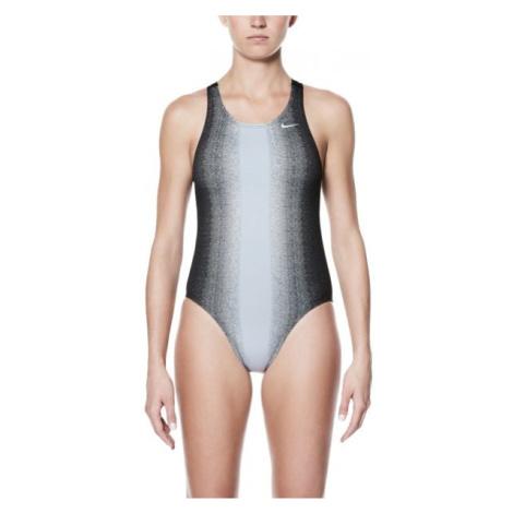 Nike FADE STING šedá 40 - Dámské jednodílné plavky