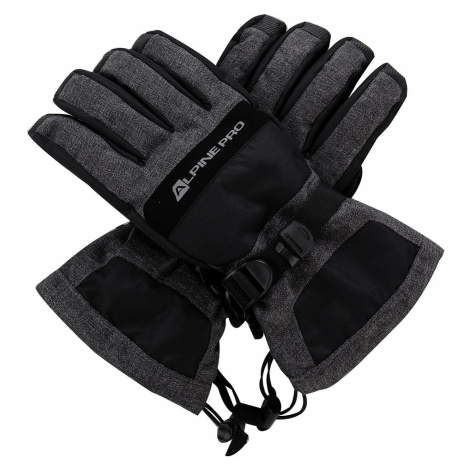 Unisex rukavice Alpine Pro MIRON - černá