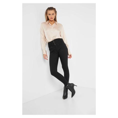 Kalhoty se zvýšeným pasem Orsay