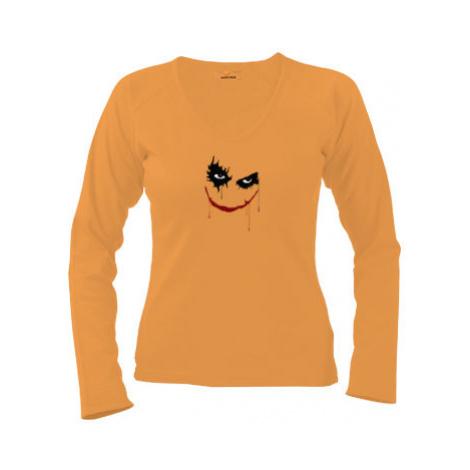 Dámské tričko dlouhý rukáv Joker
