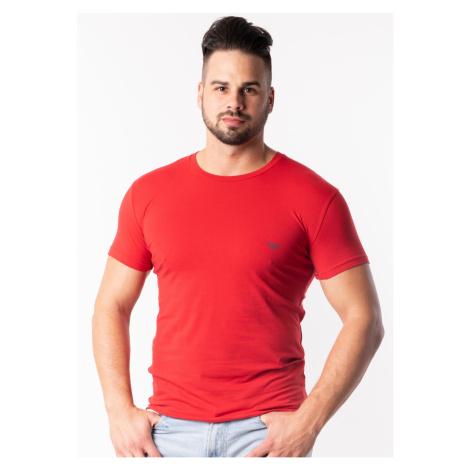 Pánské tričko Emporio Armani 111035 9P725 Červená
