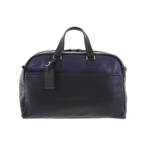 Hexagona Cestovní kožená taška černo modrá - Everyday Modrá