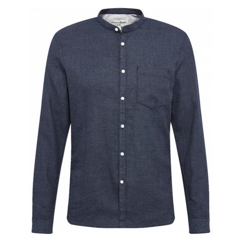 TOM TAILOR DENIM Košile tmavě modrá