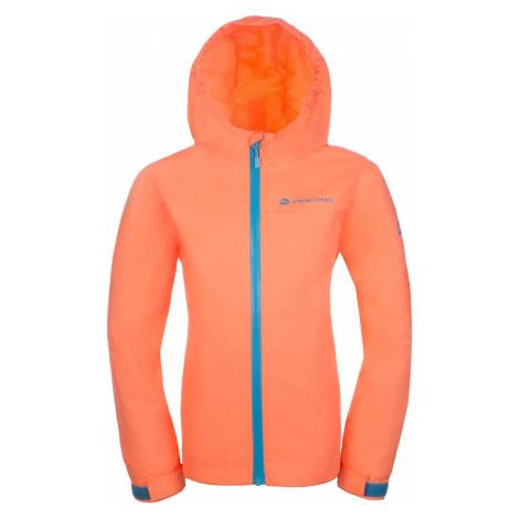 Dětská bunda Alpine Pro VIBO - oranžová