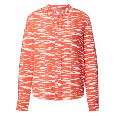 Calvin Klein Halenka oranžová / bílá