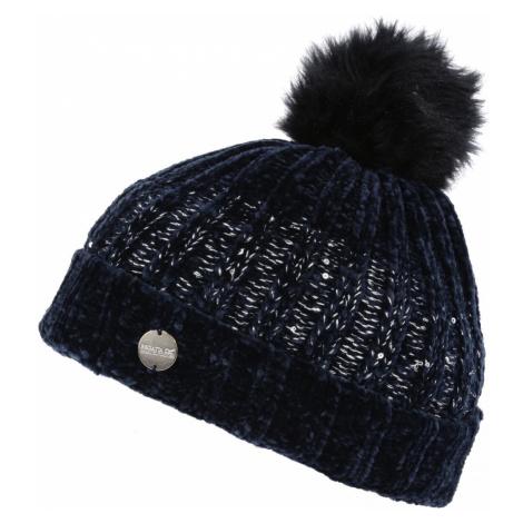 Zimní čepice Regatta Lorelai Hat Obvod hlavy: univerzální cm / Barva: tmavě modrá